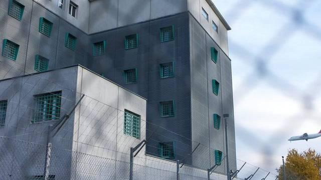 Viele Insassen im Gefängnis in Kloten warten auf ihre Ausschaffung (Archiv)