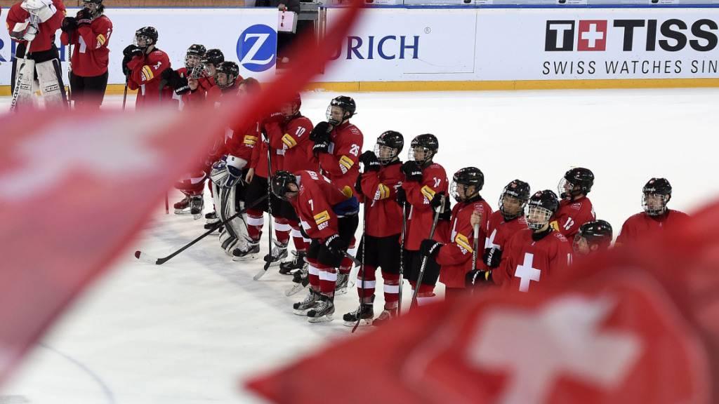 Die Schweizer Junioren verpassten den Coup gegen Finnland (Archivbild)