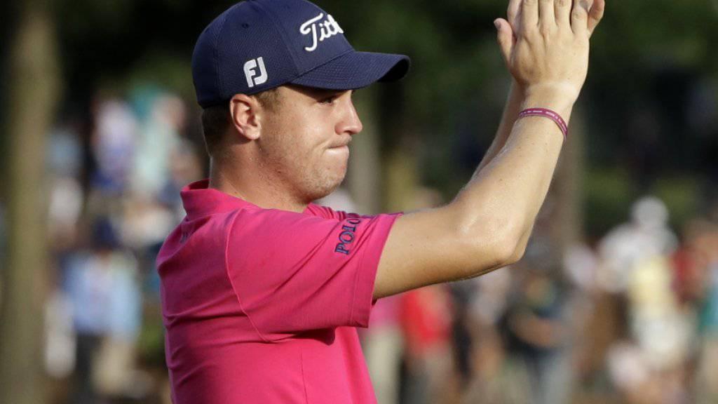Justin Thomas gewinnt die US PGA Championship