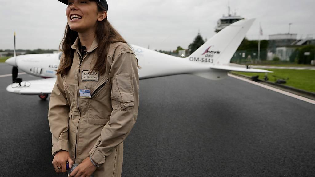 Richtung Weltrekord abgehoben - 19-Jährige startet Flug um die Erde