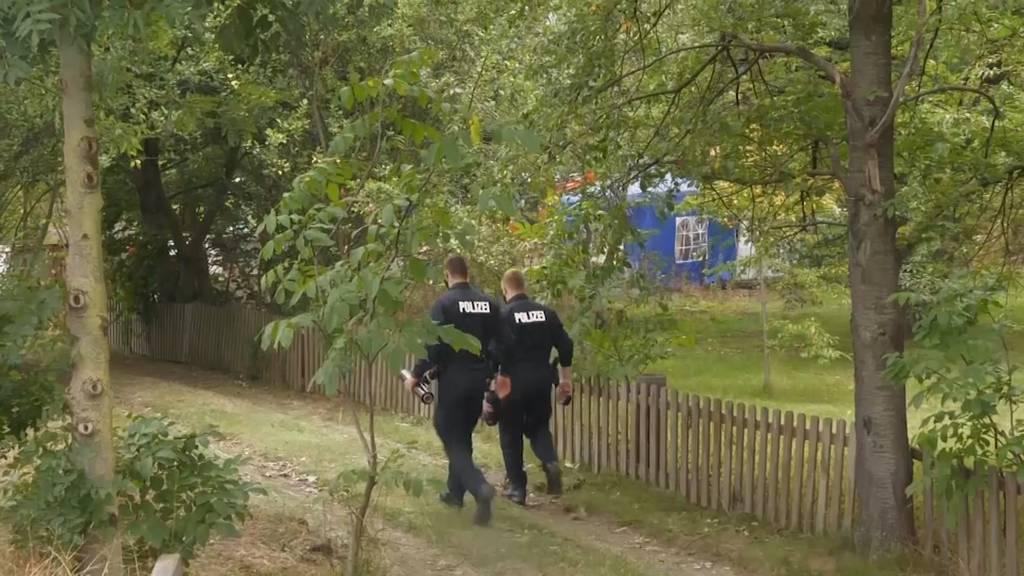 Fall Maddie: Polizei findet verborgenen Kellerraum im Kleingarten