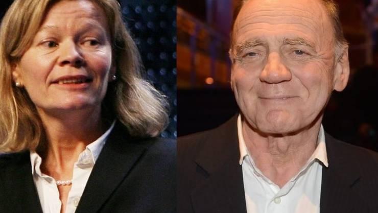 Zwei Schweizer im Lola-Rennen: Filmemacherin Heidi Specogna und Schauspieler Bruno Ganz. (Archivbild)