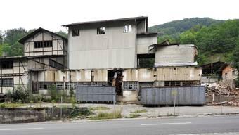 Gipsfabrik in Kienberg wird abgerissen