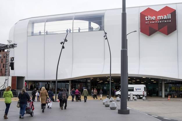 Impressionen der Eröffnung des zweitgrössten Einkaufszentrums der Schweiz am 8. November 2018.