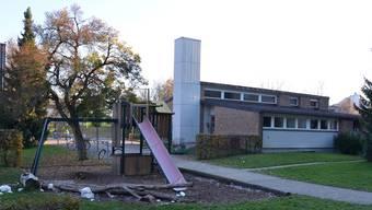 Der Kindergartenpavillon im Feld soll ersetzt werden.