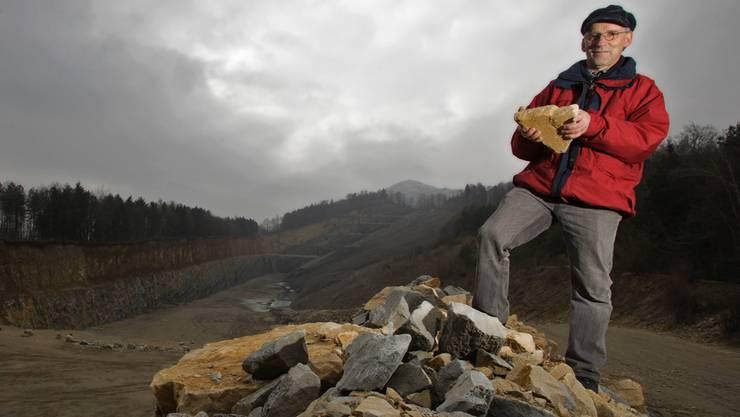 Sämi Richner will bei der geplanten Erweiterung des Steinbruchs in seiner Nachbarschaft die Interessen der Anwohner einbringen. Chris Iseli/Archiv AZ