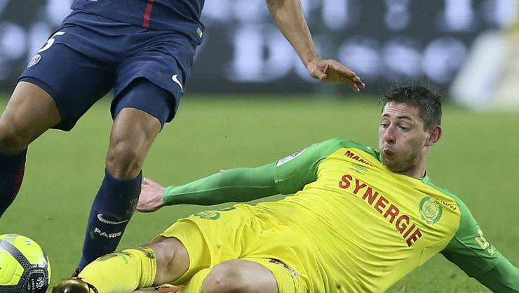 Emiliano Sala spielte seit 2015 für den FC Nantes und war am Montag auf dem Weg zu seinem neuen Klub nach Cardiff