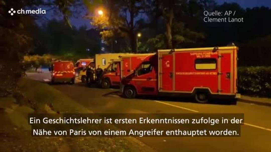 Paris: Grauen auf offener Strasse - Lehrer wird enthauptet