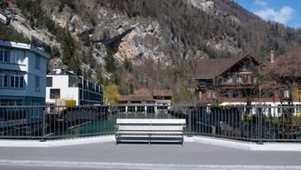 Fehlende Gäste in Interlaken: Die Coronakrise hat die Schweizer Tourismusbranche fest im Griff.
