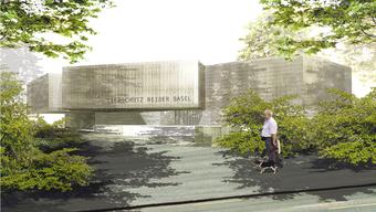 So soll das neue Tierheim aussehen für den Tierschutz beider Basel.