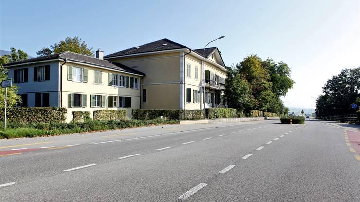 Wird wieder als Durchgangszentrum für Asylsuchende in Betrieb genommen: die Liegenschaft Villa Schläfli in Selzach.