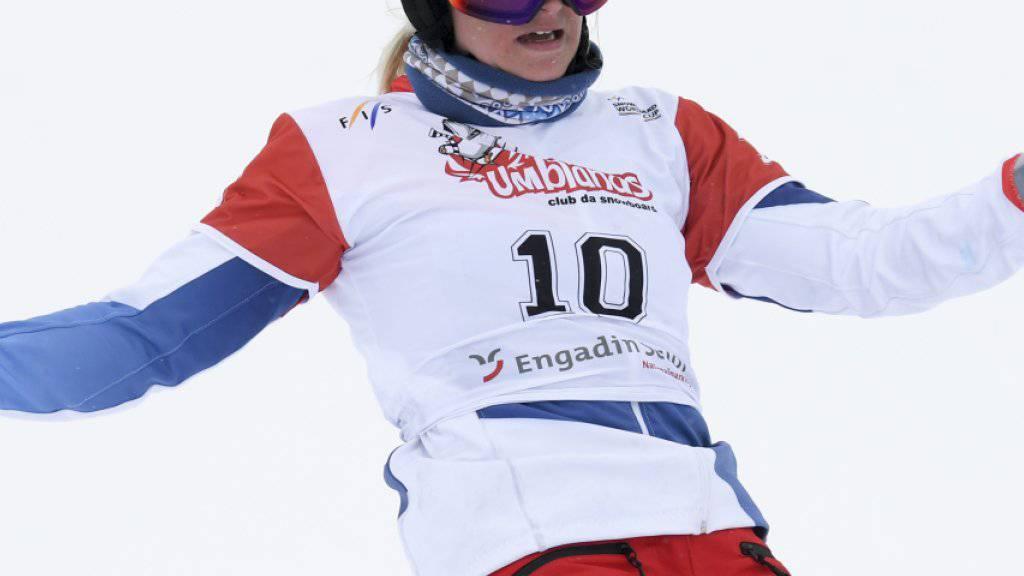 Julie Zogg feierte in Moskau den ersten Weltcupsieg seit März 2015