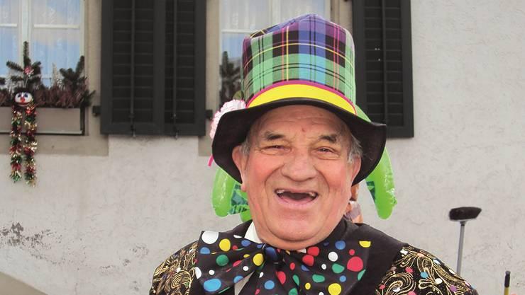 Schnyderli-Toni mit seinem Lachen, das es auf der Welt kein zweites Mal gibt.