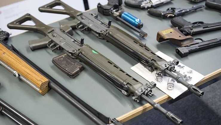 Die glp hat sich sehr deutlich für die Waffenrichtlinien ausgesprochen. (Archivbild)