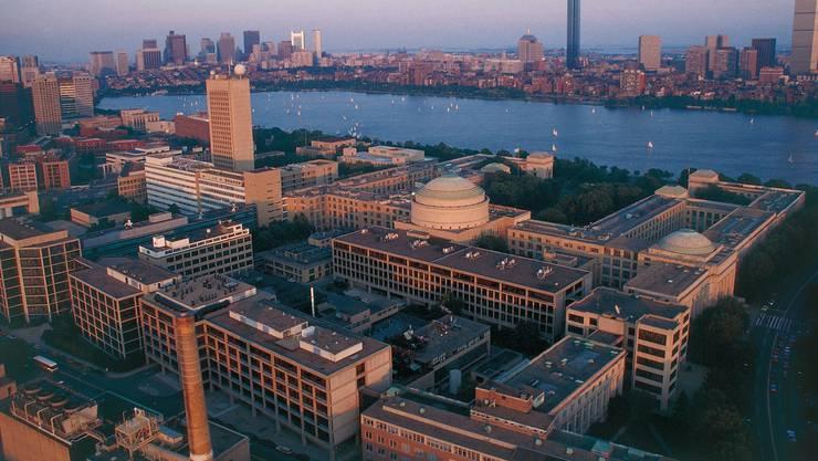 Blick auf die Technische Hochschule MIT in Cambridge/Boston. Big-Pharma und Start-ups liegen in Gehdistanz.