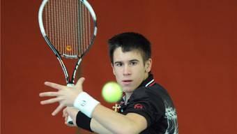 Djokovic zu Besuch im Aargau: Doch es ist nicht Novak, der in Oberentfelden spielt, sondern sein Bruder Djordje.