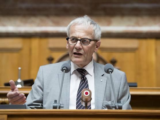 Er ist ein Homo politicus, wie er im Buch steht: FDP-Nationalrat Kurt Fluri, Stadtpräsident von Solothurn, Präsident des Städteverbands und Stiftungspräsident Landschaftsschutz.