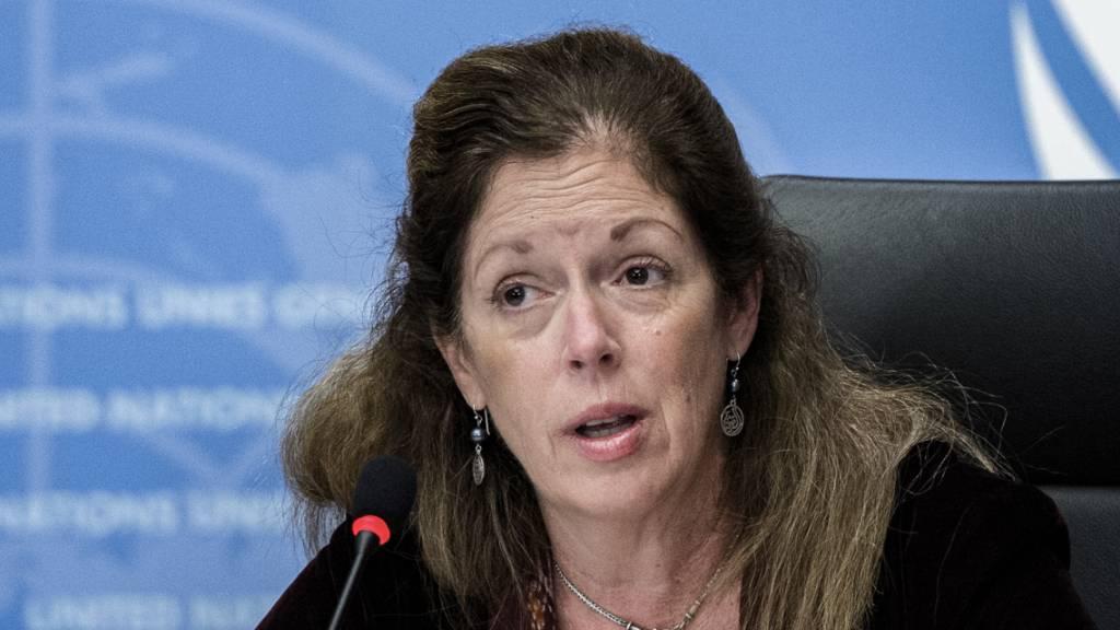 Stephanie Williams, amtierende Sonderbeauftragte des Generalsekretärs und UN-Sondergesandte für Libyen.