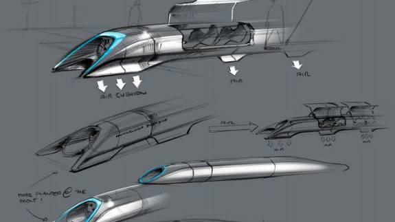 Hyperloop - tausende Kilometer in wenigen Stunden zurücklegen.