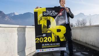 Tourdirektor Richard Chassot präsentiert das Logo und die Details zur Tour de Romandie 2020