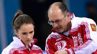 Ein Bild aus vergangenen Zeiten: Thomas Lips als Coach der Russinnen.