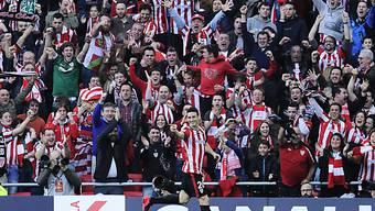Bilbaos Matchwinner Aritz Aduriz
