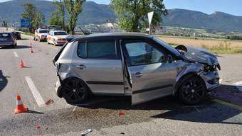 Unfall auf Archstrasse (9.Juli 2020)
