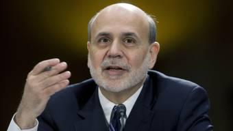 Letzte Amtshandlung: Ben Bernanke, abtretender Direktor der US-Notenbank.