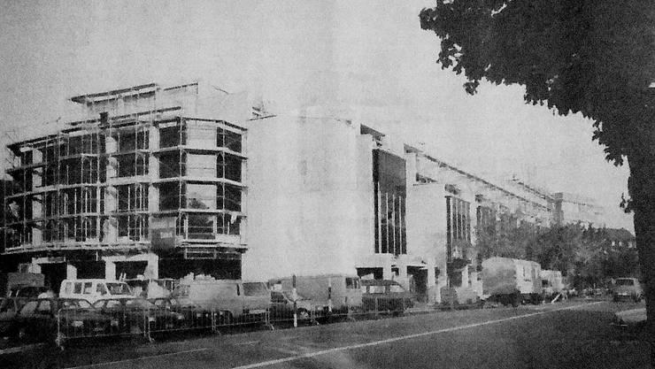 Das «Löwenzentrum» im Herzen Dietikons anno 1987...