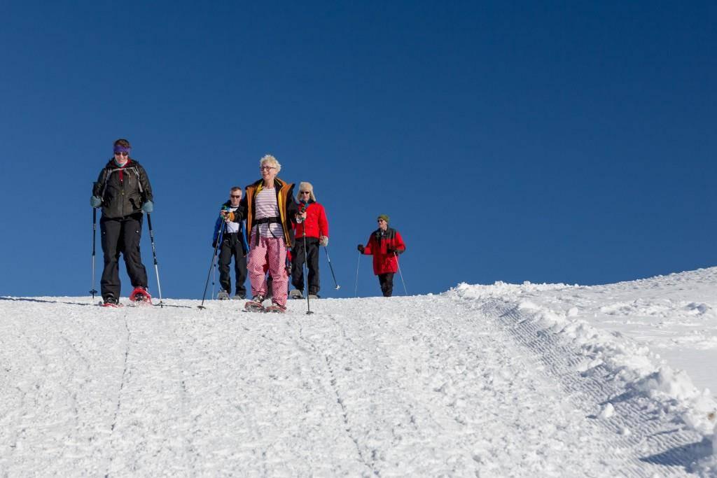 30 Jahre Schneeschuhland Appenzell (© Aurelia Schöb)
