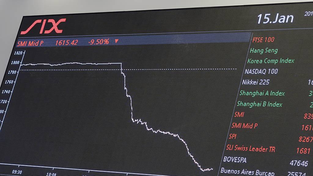 Coronavirus schickt Börsen auf Talfahrt