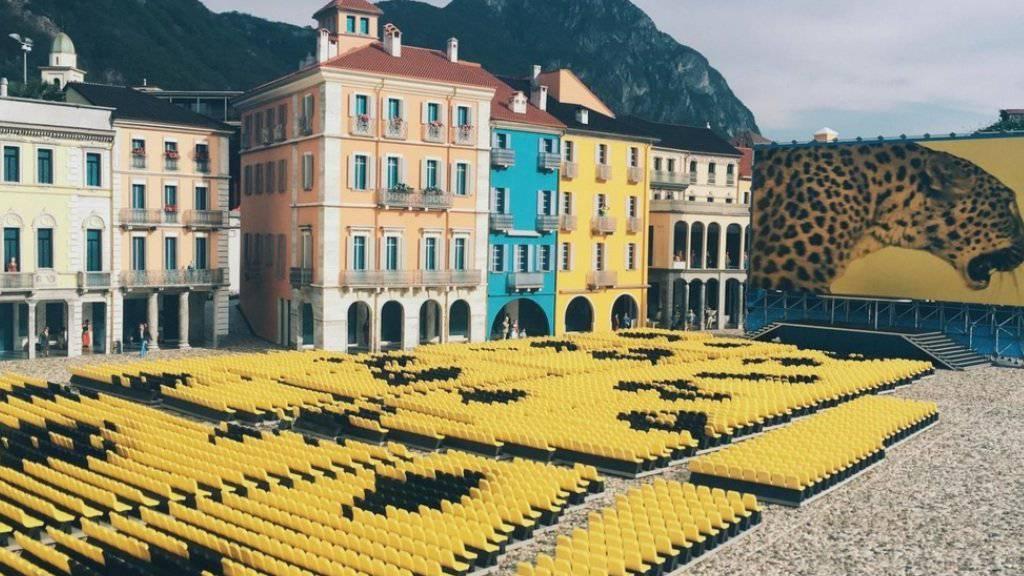 In der Swissminiatur in Melide ist ab heute täglich Festival - dank dem Nachbau der Piazza Grande in Locarno in der Dekoration für das Festival del film. (Handout)