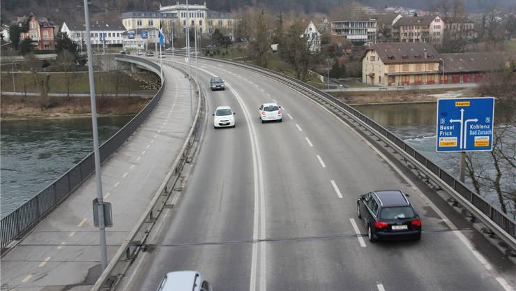 Gefahrenherd Casinobrücke. CM