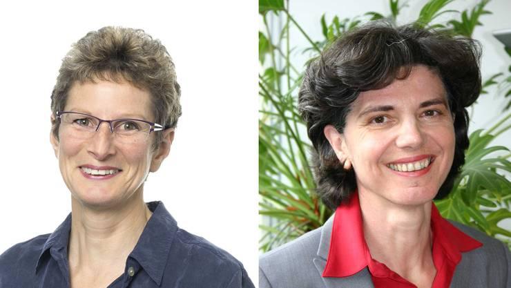 Barbara Thür (links) tritt als neue Kantonstierärztin die Nachfolge von Erika Wunderlin an.