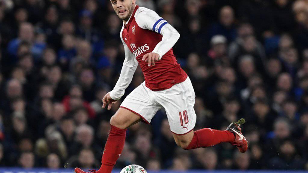 Nach 17 Jahren Zusammenarbeit: Jack Wilshere sieht seine persönliche Zukunft nicht bei Arsenal und verlässt den Klub in diesem Sommer