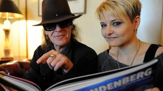 Ja, es ist Liebe! Udo Lindenberg und Tine Acke (Archiv)