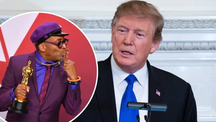 Der US-Regisseur Spike Lee hat sich mit seinen Äusserungen auf der 91. Oscar-Verleihung den Zorn von US-Präsident Donald Trump auf sich gezogen.