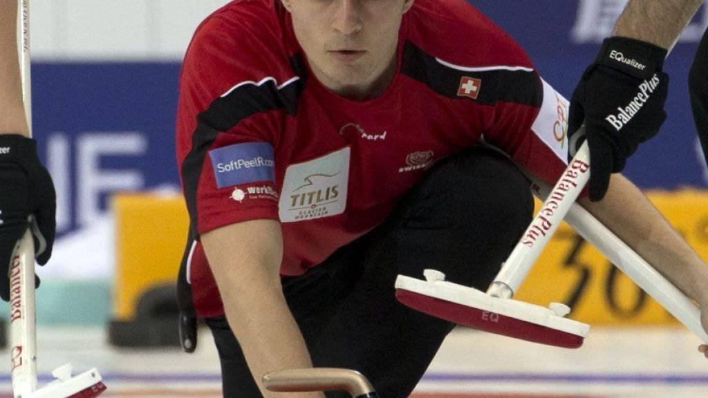 Benoît Schwarz mit den heiklen Aufgaben der Nummer 4