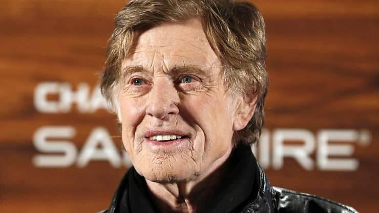Hängt die Schauspielerei an den Nagel: Oscar-Gewinner Robert Redford, hier an der Medienkonferenz für das Sundance Film Festival in Park City, Utah.