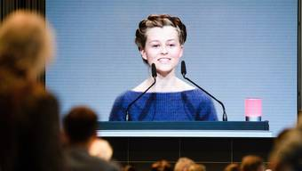 Clara Mayer sprach an der VW-Hauptversammlung.