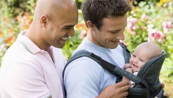 Papi, Papi, Kind – das fast perfekte Familienglück. Fast, denn das Bundesgericht anerkennt nur einen Vater pro Kind..