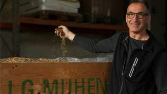 Thomas Bieli, Geschäftsführer der Landwirtschaftlichen Genossenschaft Muhen.