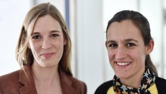 Glückliche Siegerinnen: Corina Gredig (links), Co-Präsidentin GLP Kanton Zürich, und Marianna Schlatter-Schmid, Präsidentin.