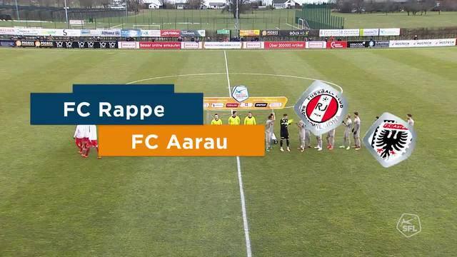 Challenge League: 20. Runde, FC Rapperswil-Jona - FC Aarau, Highlights