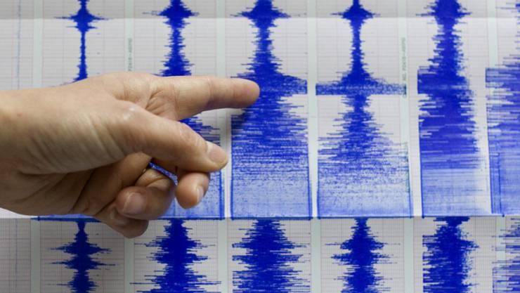 Das Erdbeben hatte nach ersten Angaben des Erdbebendienstes der ETH Zürich eine Stärke von 3,9 auf der Richterskala. (Symbolbild)