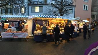 Alle Produkte des Badener Adventsmarkts sind von Menschen mit Beeinträchtigung hergestellt oder bearbeitet worden. ZVG