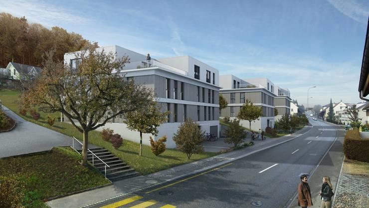 Der Bauherr musste das an der Hauptstrasse geplante Projekt überarbeiten. Jetzt liegt es wieder auf.
