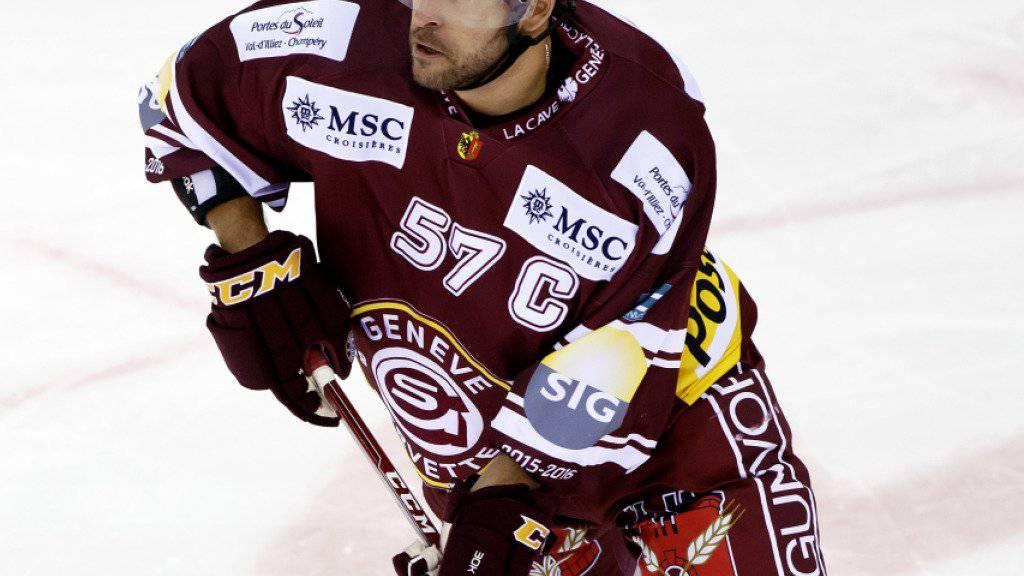 Goran Bezina verlässt Servette und wechselt in die KHL zu Zagreb