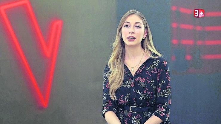 Astrid Biagioli aus Mellingen versucht ihr Glück mit  «Titanium» von David Guetta und Sia.