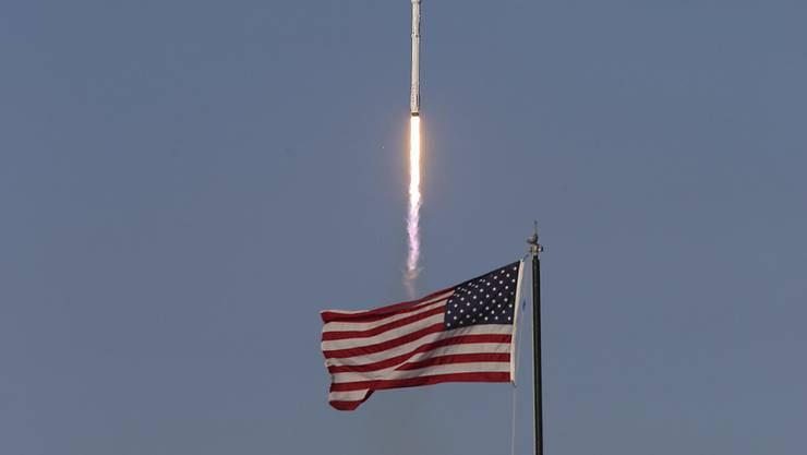 """Die neue US-Teilstreitkraft """"Space Force"""" soll die Interessen der USA im Weltraum schützen und nötigenfalls gegen Aggressionen aus dem All vorgehen."""